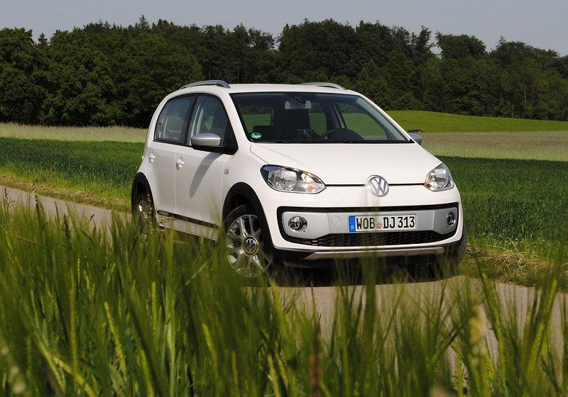 VW cross up! Titelbild