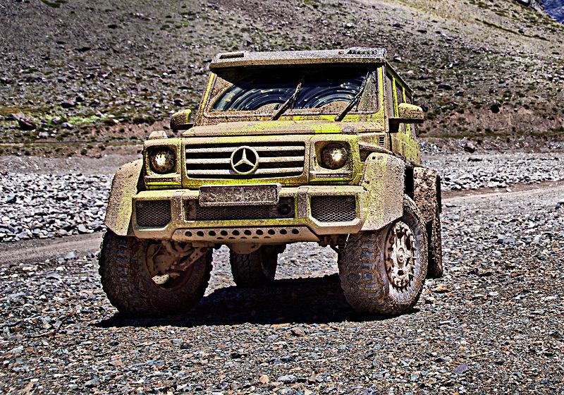 Mercedes G Showcar 01
