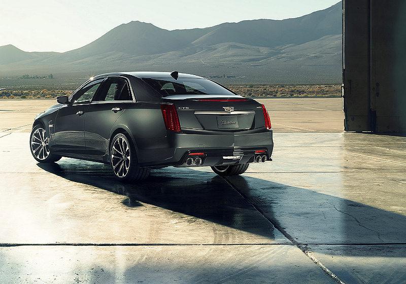 Cadillac CTSV 01