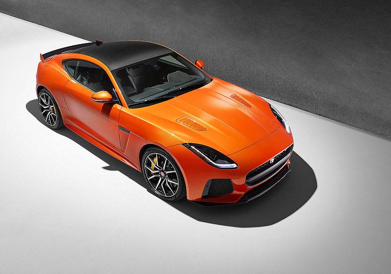 Jaguar FTYPE SVR Update 02