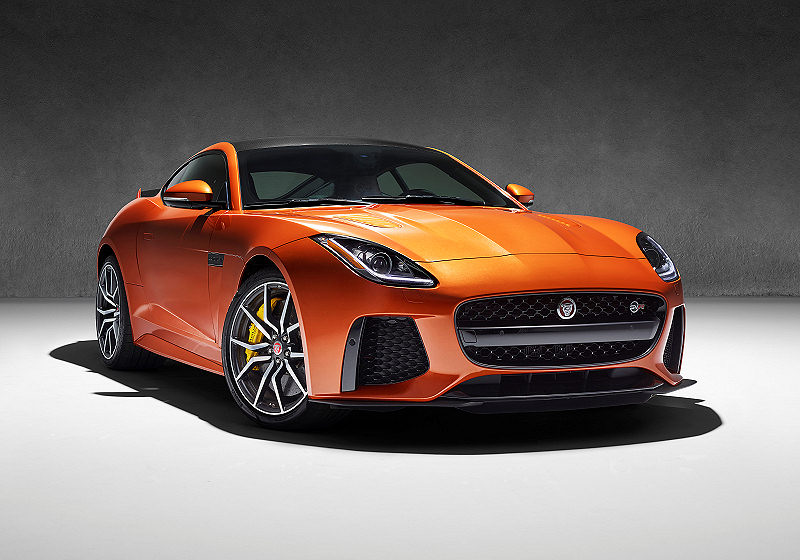 Jaguar FTYPE SVR Update 06