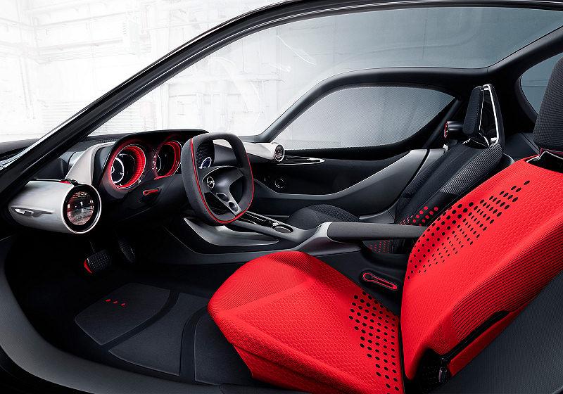 Opel GT Concept Interieur 03