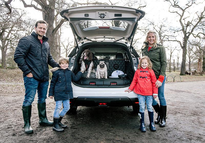 hundebesitzer aufgepasst!! hier zeigt nissan die x-trail studie