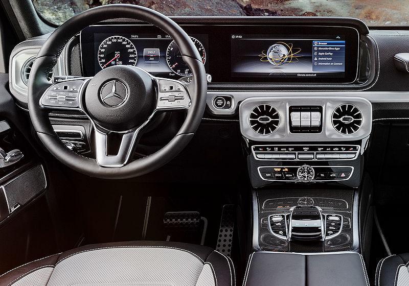 Nimm Platz in der neuen Mercedes G-Klasse. | CARWALK