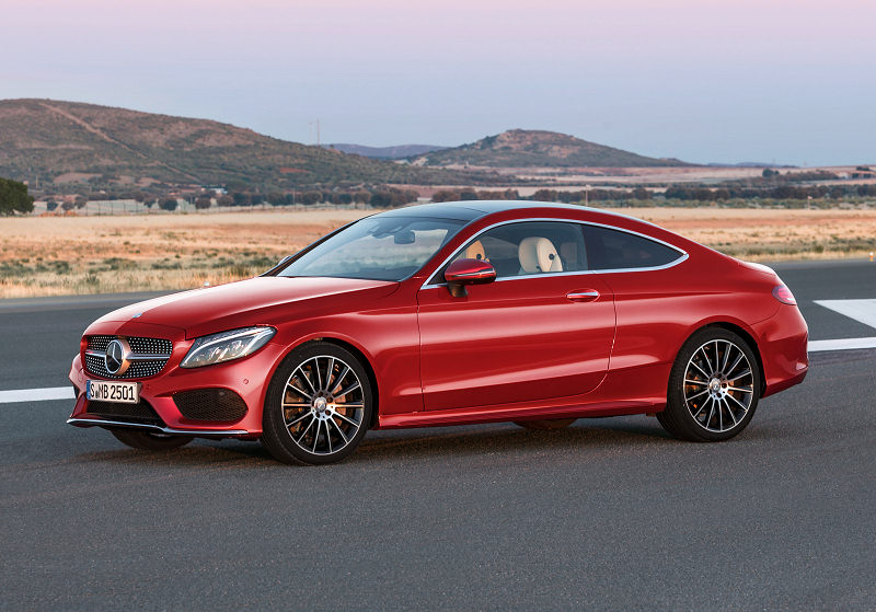 MB C Coupe 07
