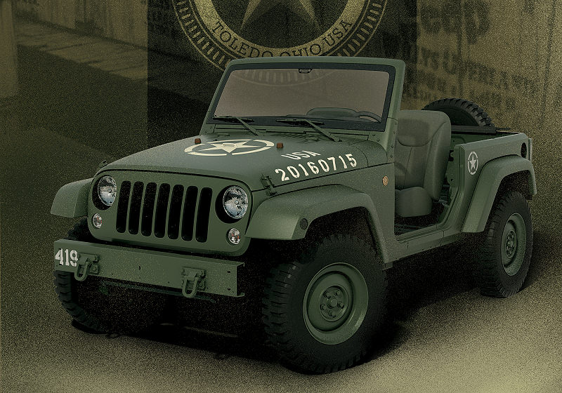 Jeep Konzept 75th Titel